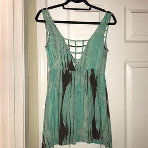 Dresses & Skirts - Mini Aqua Dress